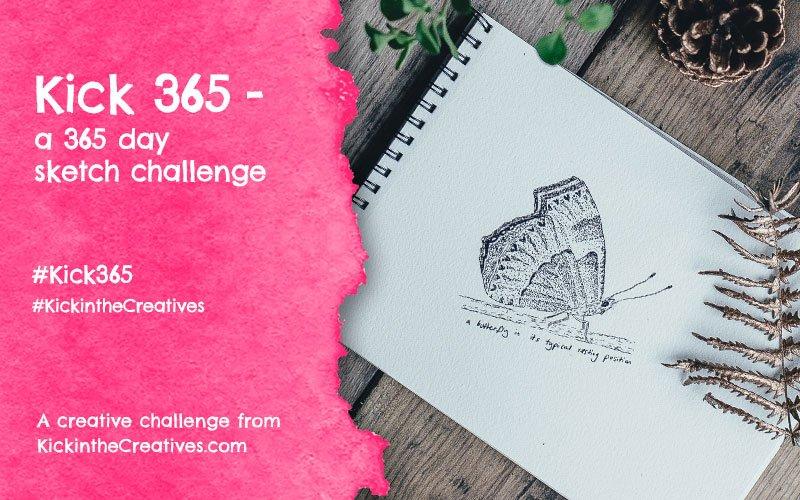 Kick 365 – 365 Day Sketching Challenge