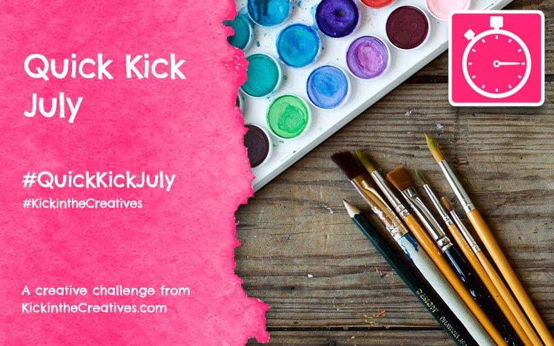 Quick Kick July Drawing Challenge
