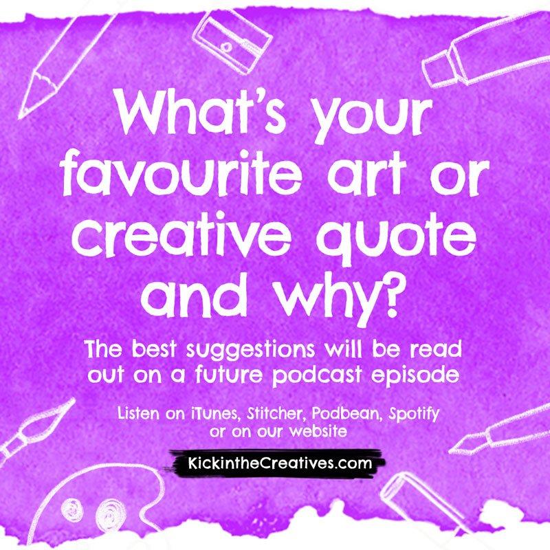 favourite art quote