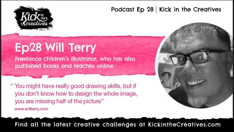 Ep 28 Will Terry Childrens Ilustrator