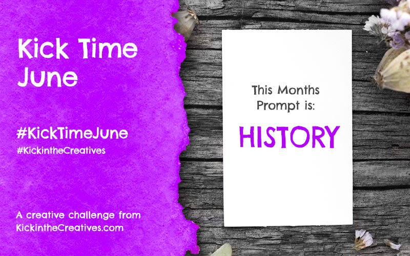 Kick Time June a Month Long Creative Challenge