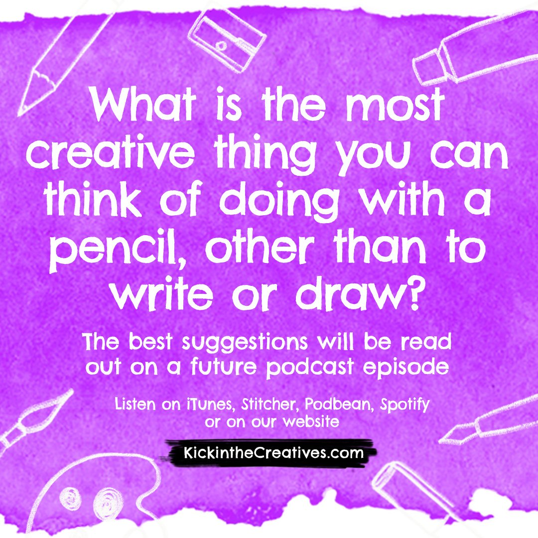 Creative with a pencil question