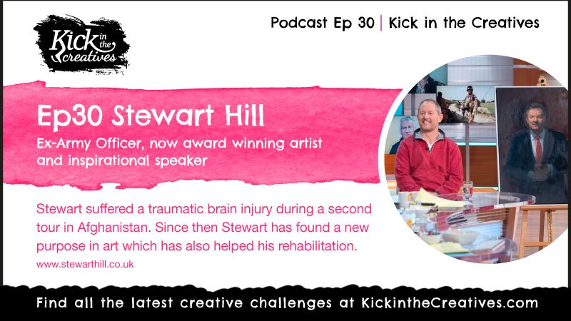 ep30 podcast Artist Stewart Hill