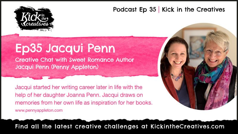 podcast - creative chat with author Jacqui Penn