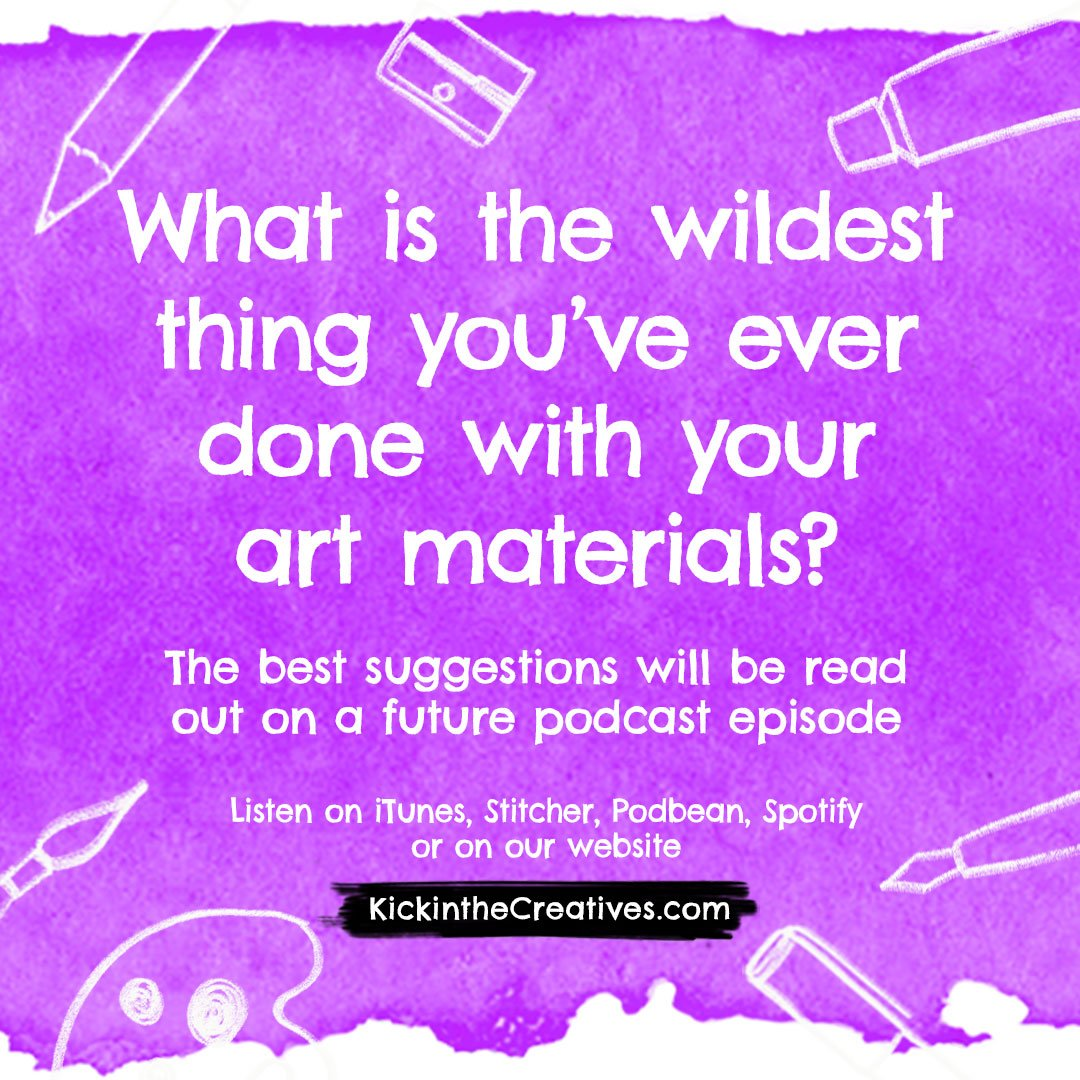 Art Question wildest art materials