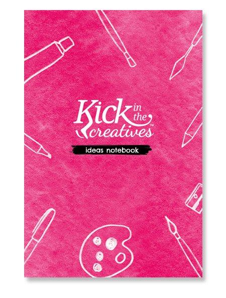 KITC pink notebook