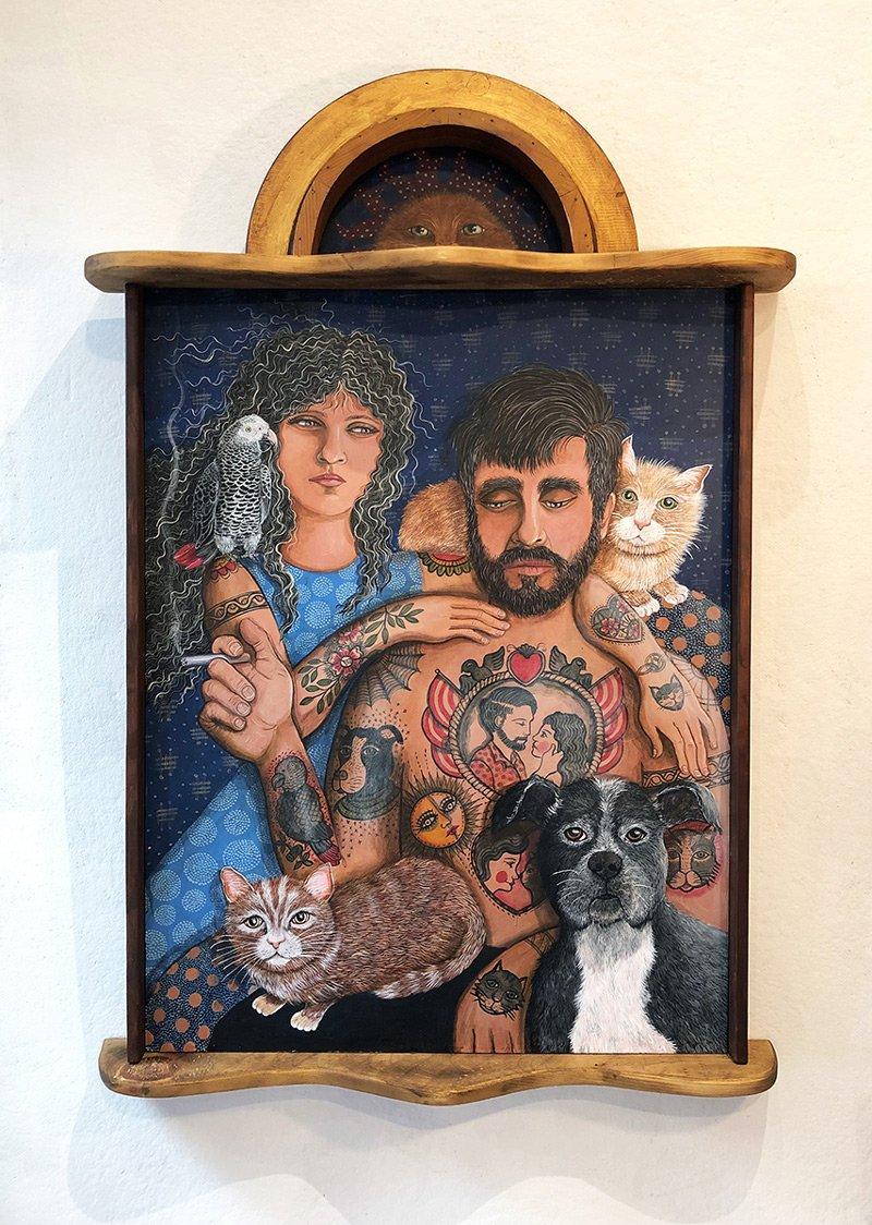 Johansen Newman - Family Portrait