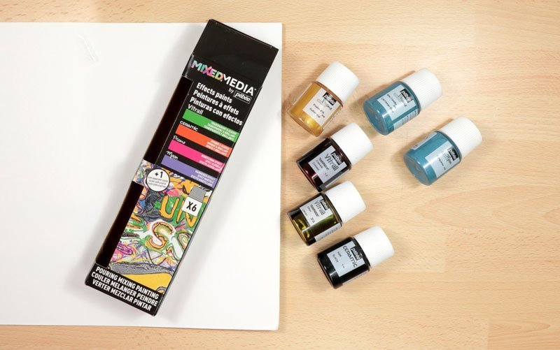 Pebeo mixed media discovery paint set