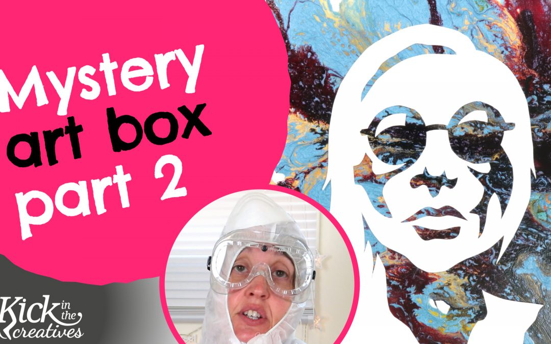 Mystery Box Art Supplies – Pebeo Mixed Media Discovery Set