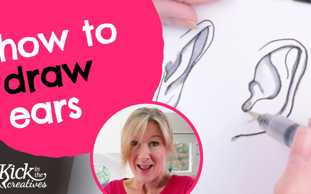 How to Draw Ears for Beginners Step by Step