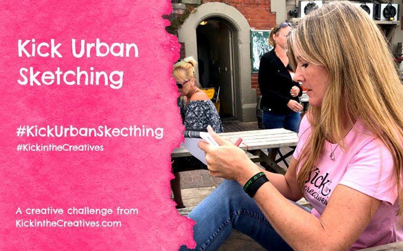Kick Urban Sketching