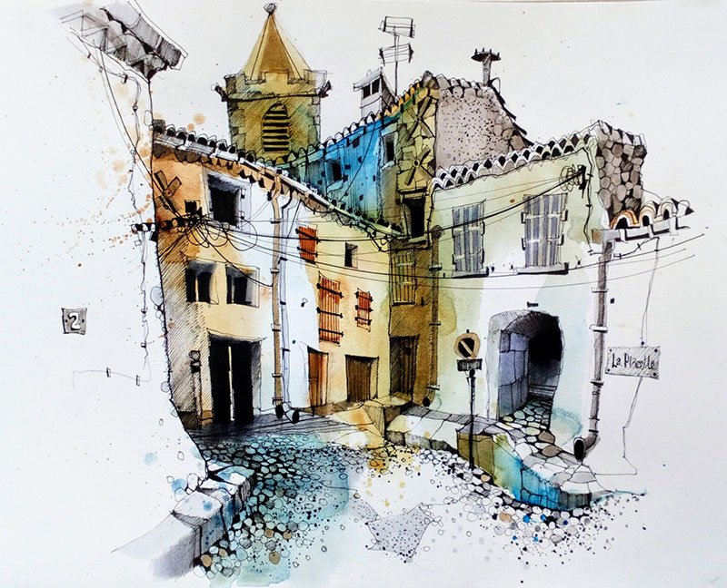 Quarante - Ian Fennelly Urban Sketch