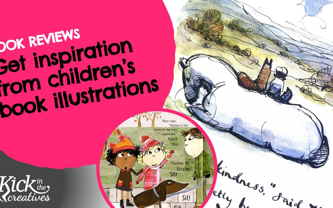 Get Art Inspiration from Children's Book Illustrations