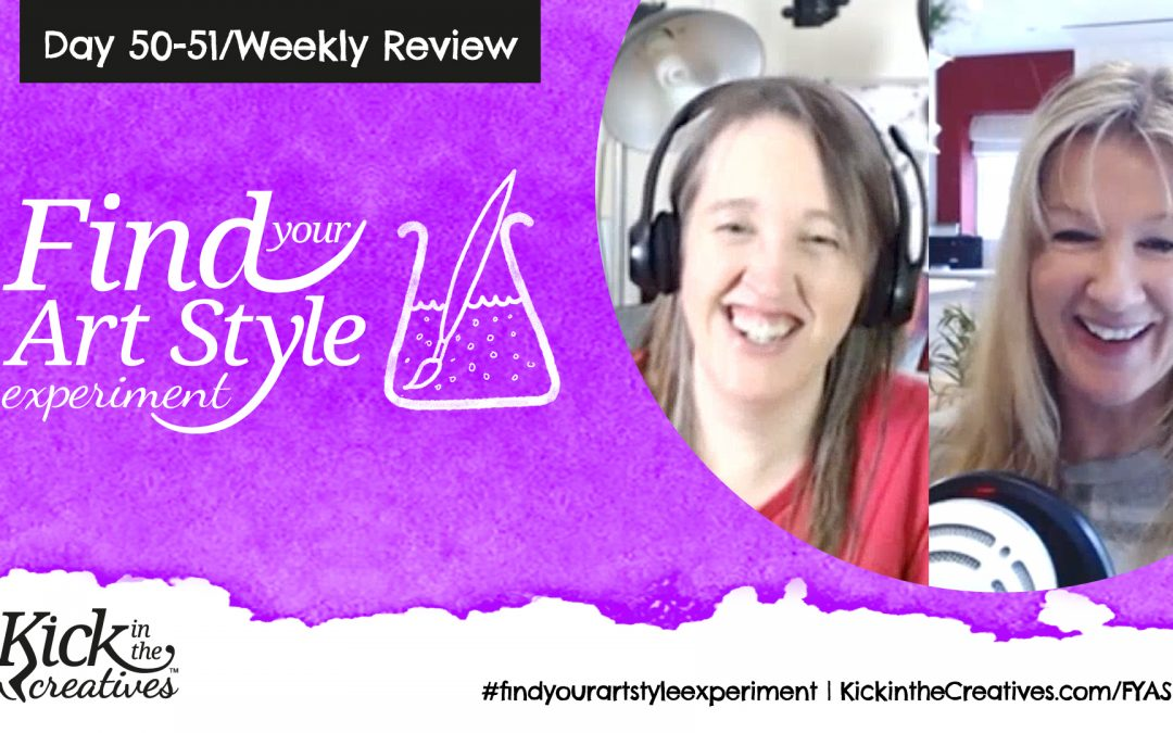 Find Your Art Style Experiment Weekly Review Day 5051 – Weekly Review