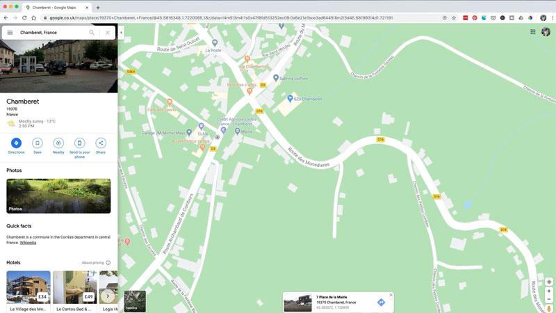 map chamberet