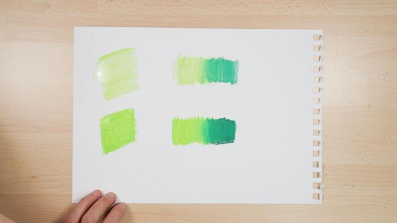 blending neocolor ii