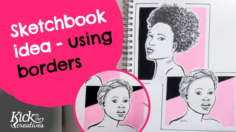 Using Borders in your Sketchbook