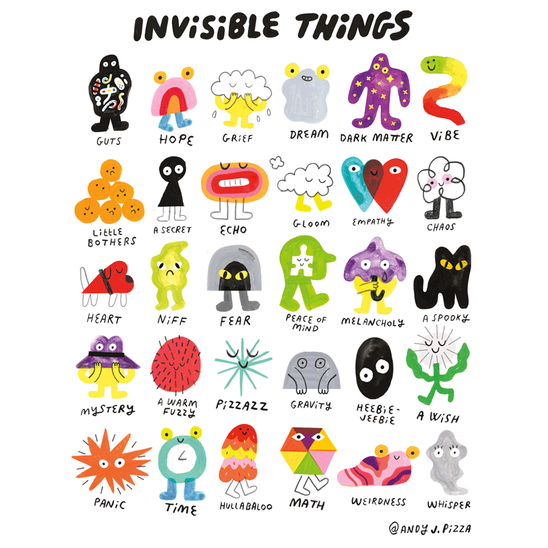 INVISIBLE THINGS POSTER