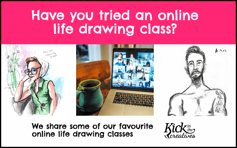 online life drawing classes in zoom
