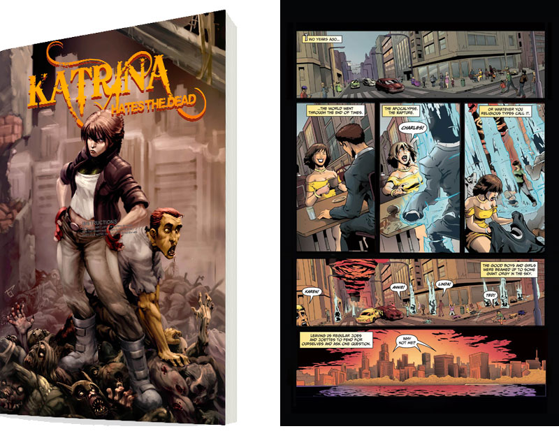 katrina graphic novel