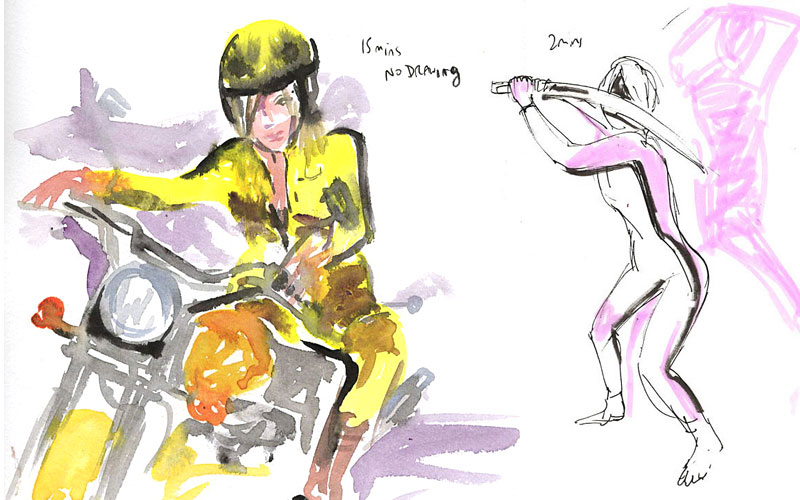 life drawing plus sketches