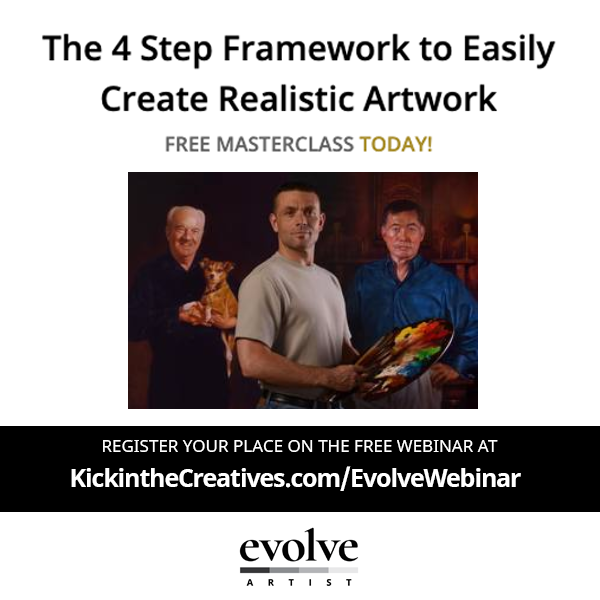 learn realistic art webinar