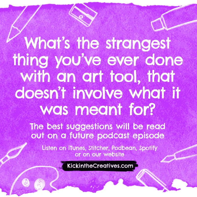 Art question strangest art tool