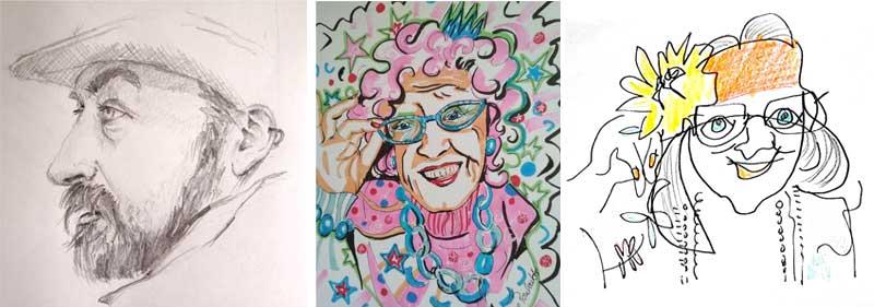 Facetastic Face Drawings
