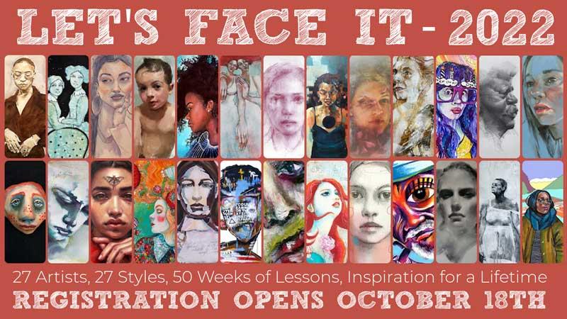 Let's Face It 2021 Portrait Course