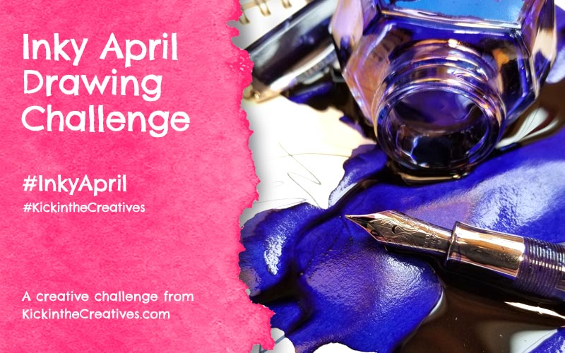 Inky April – Drawing Challenge