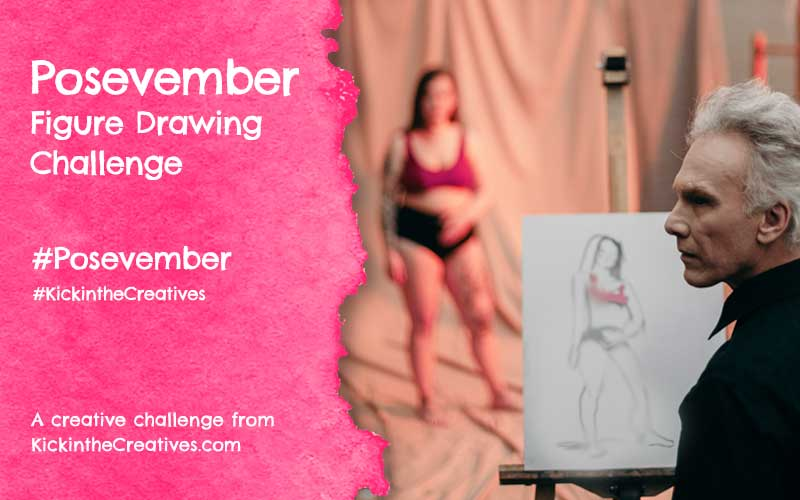 Posevember – 30 Day Figure Drawing Challenge